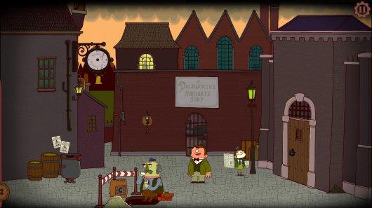 Screenshot for Adventures of Bertram Fiddle: Episode 2 - A Bleaker Predicklement, The 1