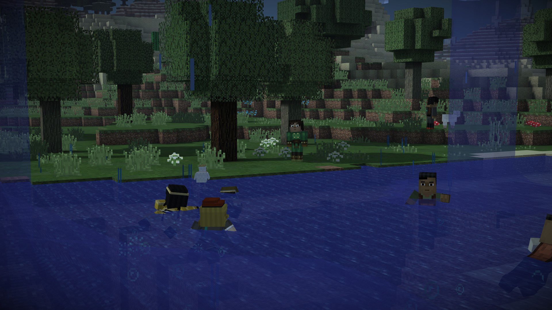Screenshots For Minecraft Story Mode Episode 5 Order Up