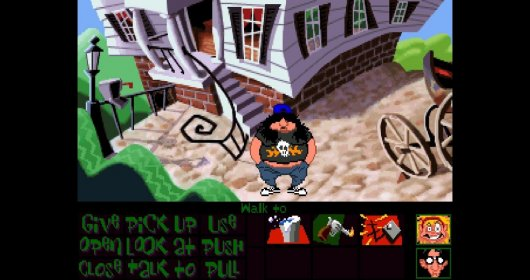 Screenshot for Day of the Tentacle Remastered 2