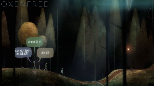 Screenshot for Oxenfree 1