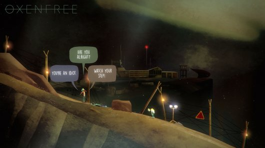 Screenshot for Oxenfree 3
