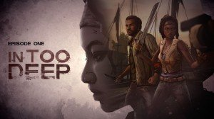 The Walking Dead: Michonne: Episode One - In Too Deep Box Cover