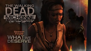 The Walking Dead: Michonne: Episode Three - What We Deserve Box Cover