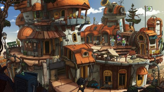 Screenshot for Deponia Doomsday 4