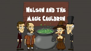 Nelson and the Magic Cauldron Box Cover