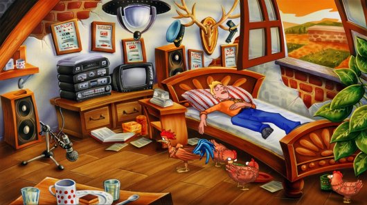 Screenshot for Detective Hayseed: Hollywood 3