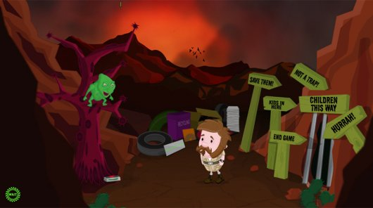Screenshot for Mystery of Woolley Mountain, The 3