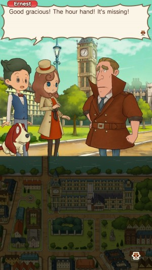 LAYTON'S MYSTERY JOURNEY: Katrielle and the Millionaires' Conspiracy Screenshot #1