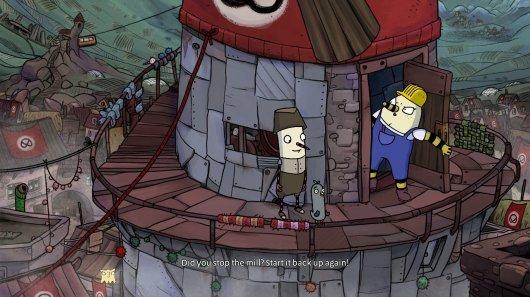 Screenshot for Inner World: The Last Wind Monk, The 1