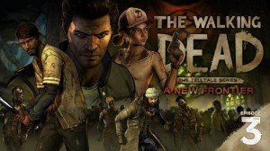 The Walking Dead: A New Frontier - Episode Three: Above the Law Box Cover
