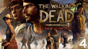 The Walking Dead: A New Frontier - Episode Four: Thicker than Water Box Cover