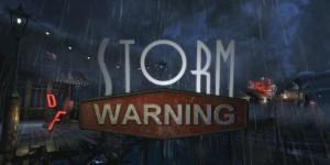Dark Fall: Storm Warning Box Cover
