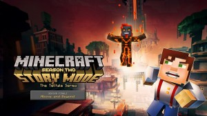 Minecraft: Story Mode – Season Two: Episode 5 – Above and Beyond Box Cover