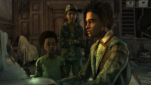 Screenshot for Walking Dead: The Final Season – Episode One: Done Running, The 3