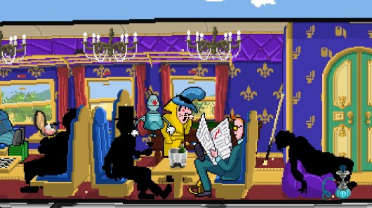 Screenshot for Detective Case and Clown Bot: The Express Killer 4