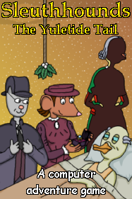 Sleuthhounds: The Yuletide Tail Box Cover