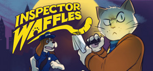 Inspector Waffles Box Cover