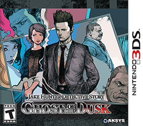 Jake Hunter Detective Story: Ghost of the Dusk Box Cover