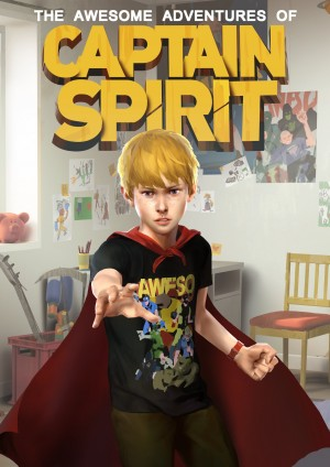 The Awesome Adventures of Captain Spirit Box Cover