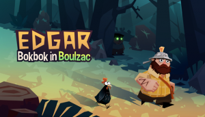 Edgar: Bokbok in Boulzac Box Cover