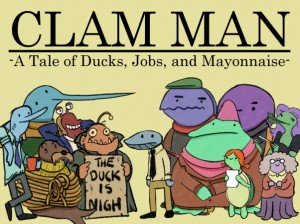 Clam Man Box Cover