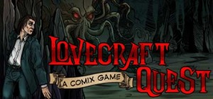 Lovecraft Quest – A Comix Game Box Cover