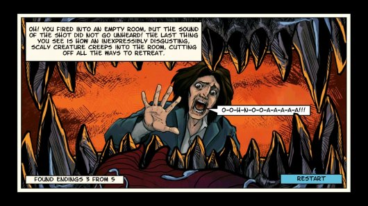 Screenshot for Lovecraft Quest – A Comix Game 4