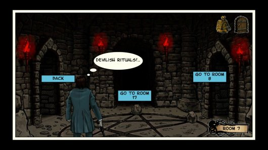 Screenshot for Lovecraft Quest – A Comix Game 3