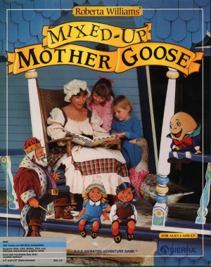 Roberta Williams' Mixed-Up Mother Goose (SCI remake) Box Cover