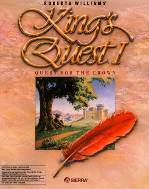 Roberta Williams' King's Quest I: Quest for the Crown (SCI remake) Box Cover