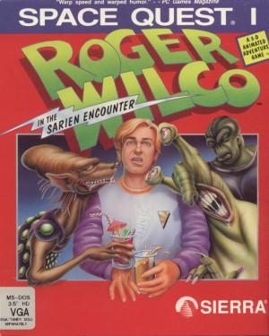 Space Quest I: Roger Wilco in the Sarien Encounter (SCI remake) Box Cover