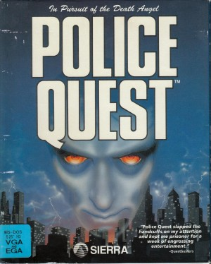 Police Quest: In Pursuit of the Death Angel (SCI remake) Box Cover