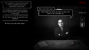 Interrogation: You will be deceived Screenshot #1