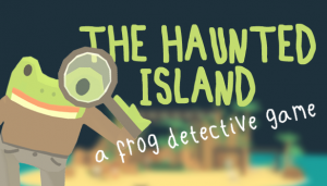 The Haunted Island: A Frog Detective Game Box Cover