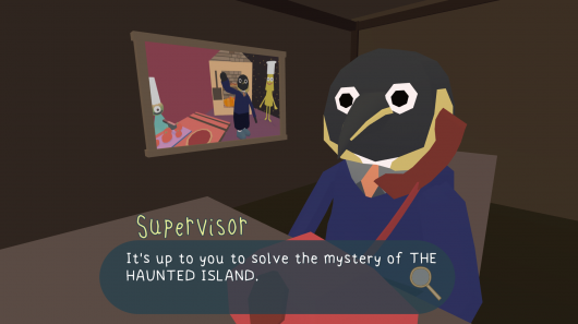 Screenshot for Haunted Island: A Frog Detective Game, The 1