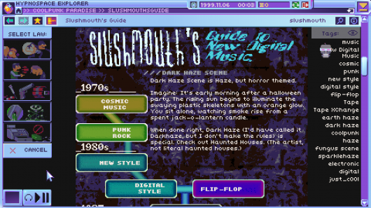 Screenshot for Hypnospace Outlaw 3