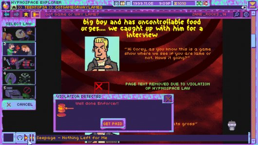 Screenshot for Hypnospace Outlaw 2