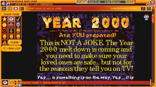 Screenshot for Hypnospace Outlaw 1