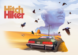 Hitchhiker – A Mystery Game Box Cover