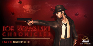 Joe Kowalski Chronicles: Chapter 1 – Murder in a Flat Box Cover
