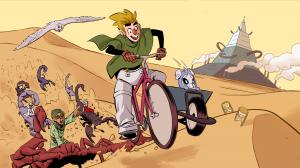Buck Bradley Comic Adventure 2: The Sand and the Techno-pyramid Screenshot #1