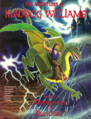 The Adventures of Maddog Williams in the Dungeons of Duridian Box Cover