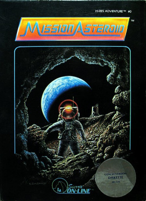 Mission Asteroid Box Cover