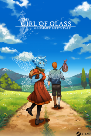 The Girl of Glass: A Summer Bird's Tale Box Cover