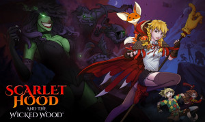 Scarlet Hood and the Wicked Wood Box Cover