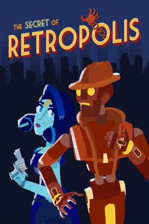 The Secret of Retropolis Box Cover
