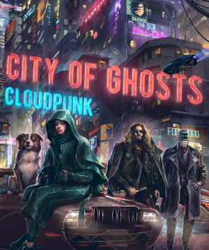 Cloudpunk: City of Ghosts Box Cover