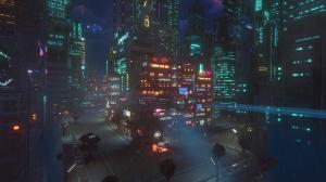 Cloudpunk: City of Ghosts Screenshot #1