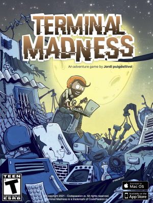 Terminal Madness Box Cover