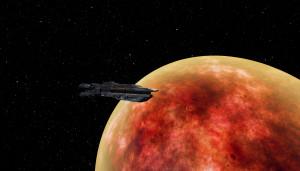 Vagabond Starship Screenshot #1